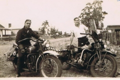 DAD AND MERV 1947 BUNBURY